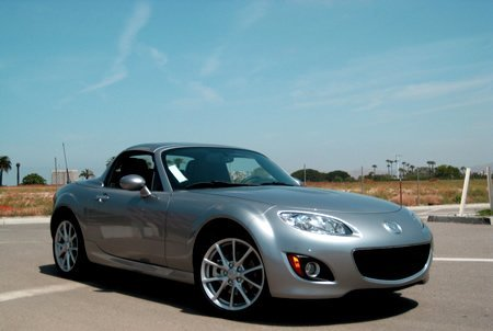The 2009 Mazda MX-5… Home of the Happiest Grill on Earth
