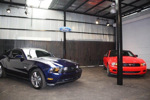 First Drive: 2011 Mustang 3 7 V6 and 5 0 V8: Pony, polished