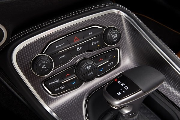 2015 Dodge Challenger SRT Hellcat integrated climate and functio