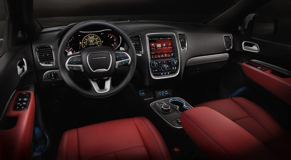 2016 Dodge Durango R/T with Radar Red Nappa leather seats